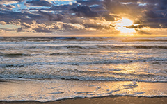 Outer Banks Beach Sunrise Wallpaper for Android