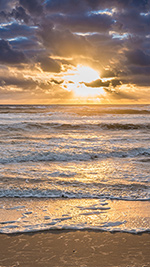 Outer Banks Sunrise Wallpaper for iPhone 1080x1920