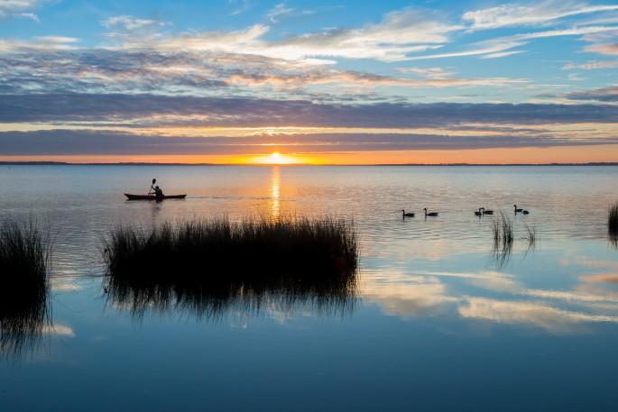 Sunset in Currituck