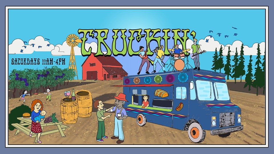 Truckin' at Sanctuary Vineyards