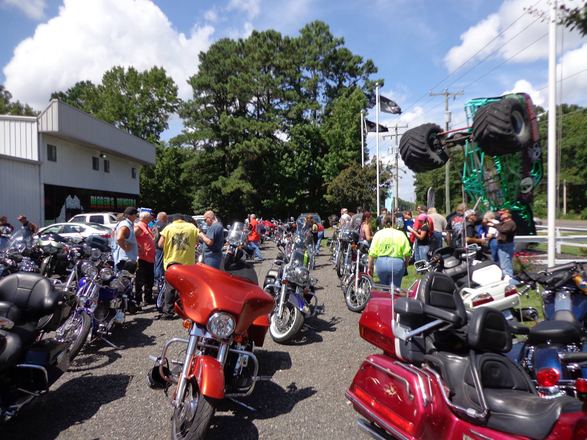 Barry's 19th Annual Bike Show
